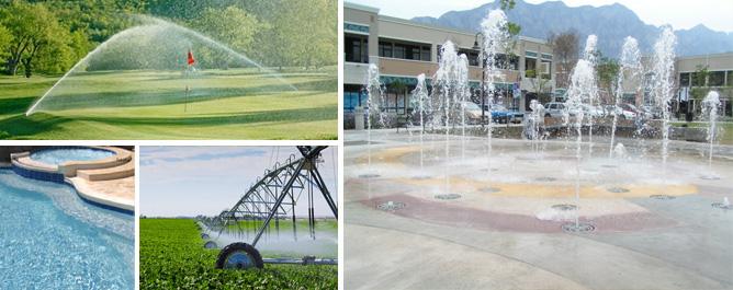 Sistemas de irrigacion y construccion for Construccion de fuentes y cascadas